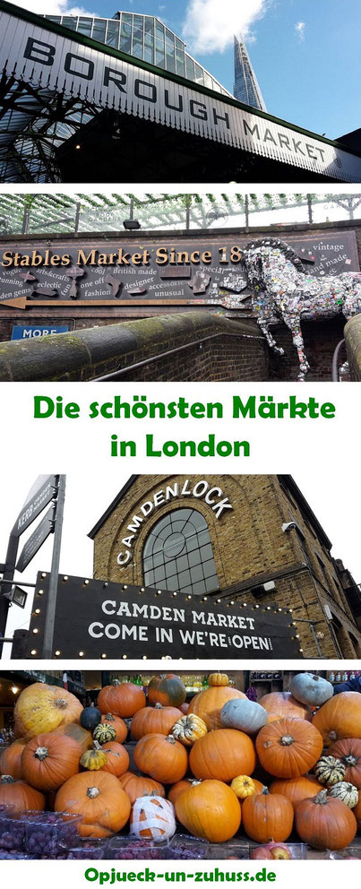 Straßenmärkte in London