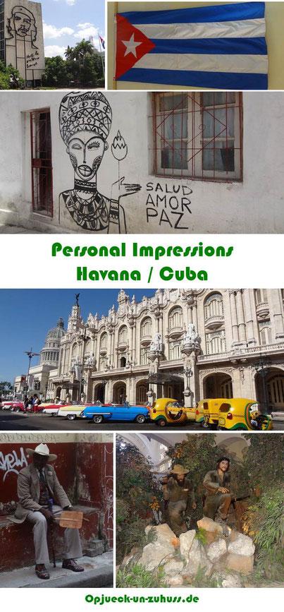 Personal impressions Havana Cuba