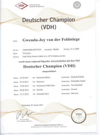 Deutscher Champion VDH
