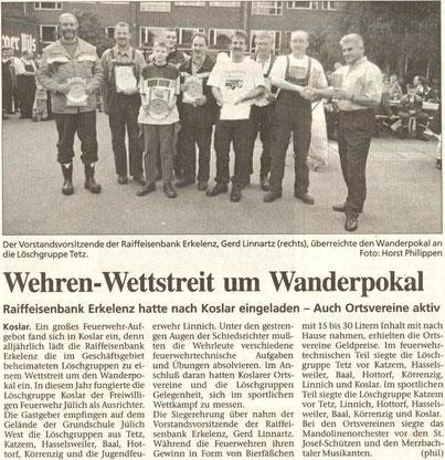 Jülicher Zeitung vom 01.10.1998