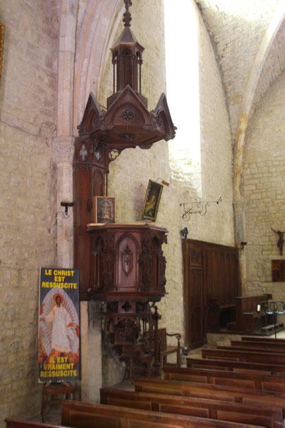 Bild: Kirche von Crestet