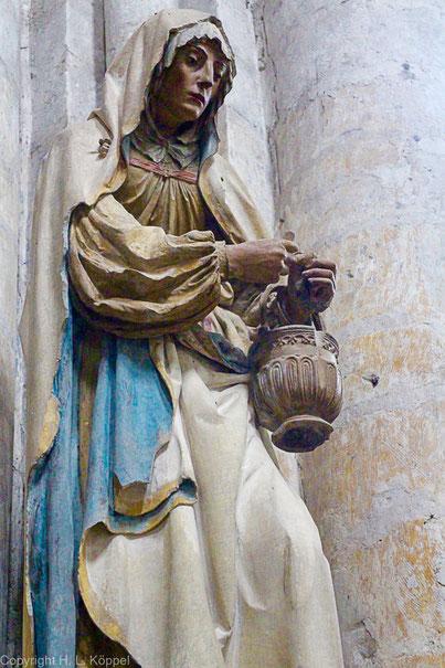 Bild Heilige Marthe in Troyes in der Église de la Madeleine