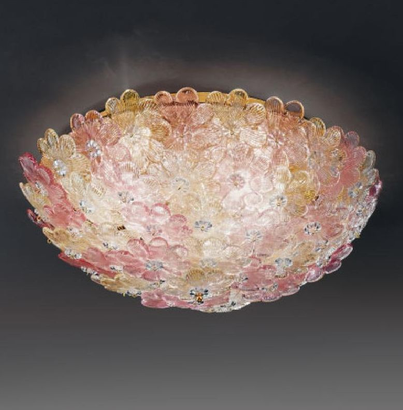 little-roses-murano-chandeliers-transparent-with-gold-dust