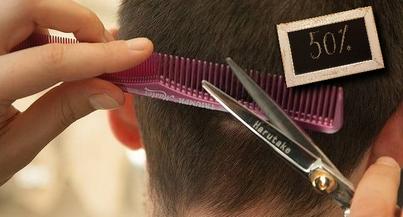 Haare schneiden mit 50% Neukundenrabatt