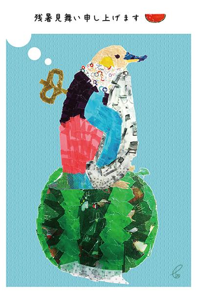 ぜんまいペンギン/マスキングテープ IllustratorCS6 2013,8.12