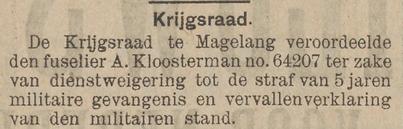 Het nieuws van den dag voor Nederlandsch-Indië 27-06-1913