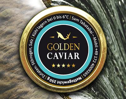 Grafik: XMAS-Logo | Kaviar & Safran Online SHOP | GOLDEN CAVIAR, Hamburg
