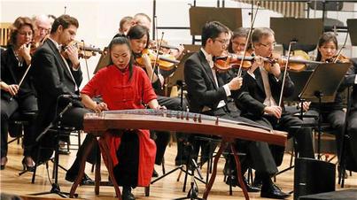 Chanyuan Zhao als Solistin mit der Neuen Philharmonie Westfalen   2018