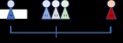 SCRUM, Funktionen & Rollen: Product Owner, SCRUM  Team, SCRUM Master