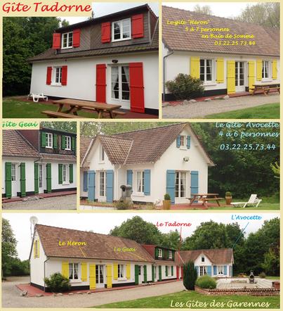 Gîte familiale baie de somme Marquenterre Picardie