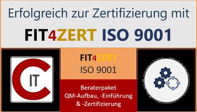 QM-Beratung zur ISO 9001 Einführung & Zertifizierung - ITC-CONTE