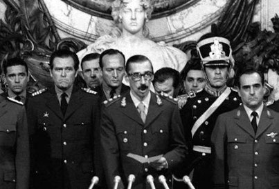 Militærjuntaens leder, general Jorge Rafael Videla