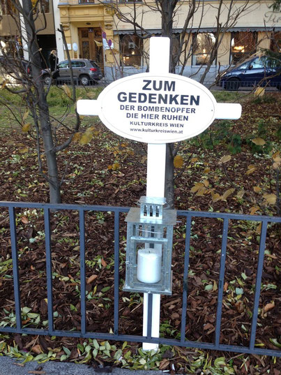 Kulturkreis Wien Günther W. Wachtl Friedl Fallmann Weisses Kriegskreuz Philipphof Opfer Wien Bombenangriff