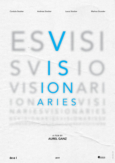 Visionaries  by Aurel Ganz Official Poster