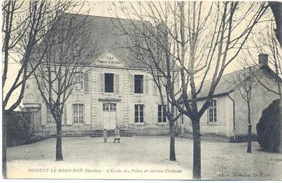 château de haut éclair, ancienne école