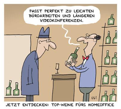 Der Cartoonist Ui Döring