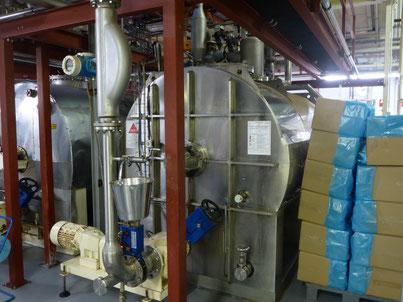 Kakao Schalen zu Kakao Pulver - Biotechnologie von Novis