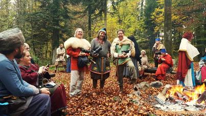 von l.: Matthias,  www.diebuehrers.com und www.mirimor.ch (Bild: Iris Bührer)