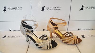 Salsa-Schuhe oder latein-Schuhe Anna Fredrich
