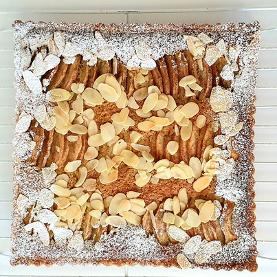 Tarte amandine aux poires tarte bourdaloue