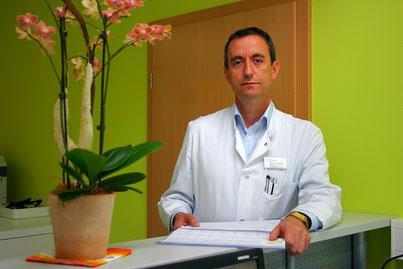 Leitender Oberarzt Palliativstation Dr. Fadil Brovina