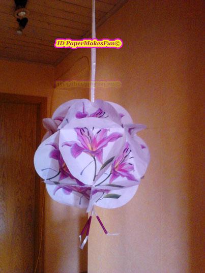 Paper Globe Lilie