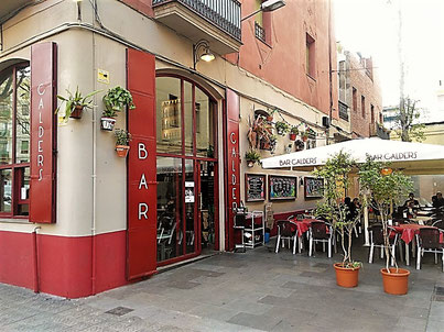 Bar Calders in Sant Antoni, Barcelona