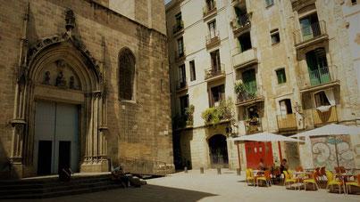 Barcelona Gotico Placa Sant Just Empfehlungen Geheimtipps Kultur Barcelona by locals