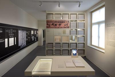 Ausstellungsraum. Bild: Haus der Geschichte  Baden-Württemberg / Daniel Stauch.