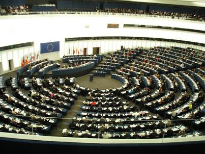 EU-Parlament - Der Saal