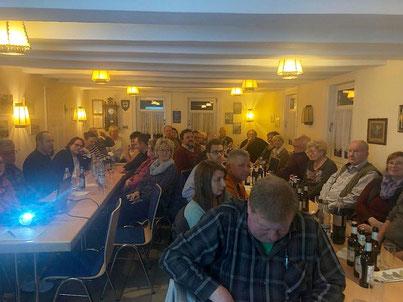 Jahreshauptversammlung im Heimathaus Achenbach 2019