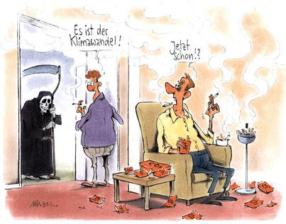 Karikatur © sfv / Gerhard Mester