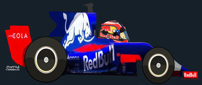 Pierre Gasly by Muneta & Cerracín
