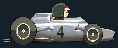 Dan Gurney by Muneta & Cerracín