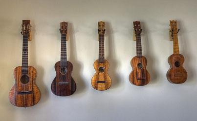 instruments à cordes ukulélé