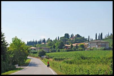 Italie, voyage à vélo, bike touring
