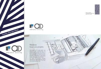 ©Ambiance Dressing, catalogue 2018 aménagements sur-mesure : dressings, portes de placard, verrières...