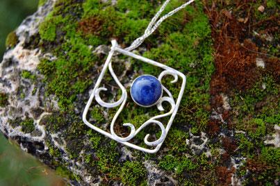 bijoux argent celtique, création artisanale de Fileuse d'étoiles