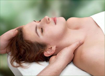 Entspannen der Nackenmuskulatur