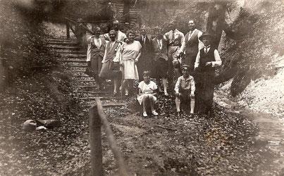 Ausflug der Familie Leplow 1927 auf Hiddensee