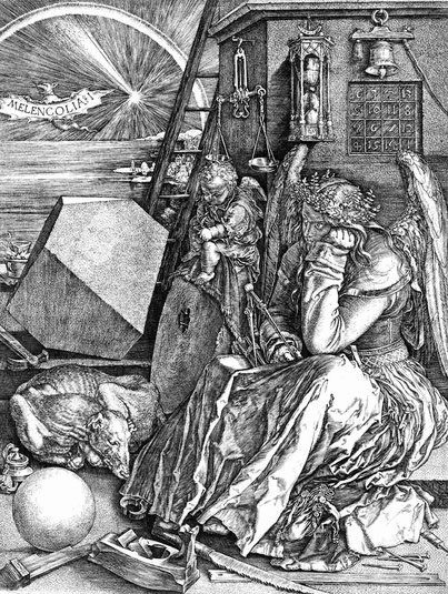 "Arbechtr Dürer, ""Melancolia"" (1514)"