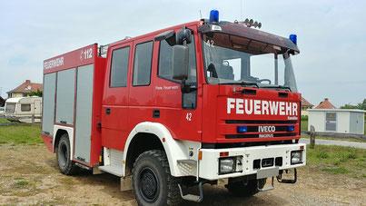 Allrad LF8/6 Löschfahrzeug gebraucht Expeditionsfahrzeugbasis 3 Sperren