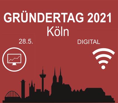 Gründertag Köln Logo mit Skyline