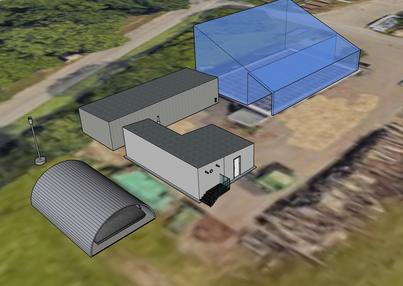 3D-Simulation einer Schaubiogasanlage für die Insel Mainau