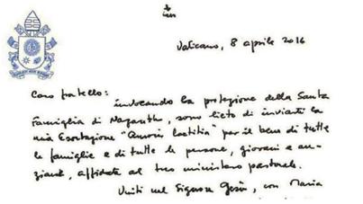 Il Chirografo del Santo Padre Francesco ai vescovi
