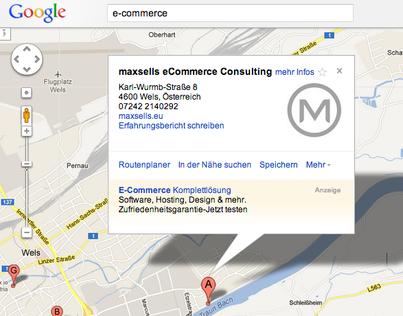 Firmeneintrag: Lokale Google Maps - My BusinessEintrag und Optimierung.