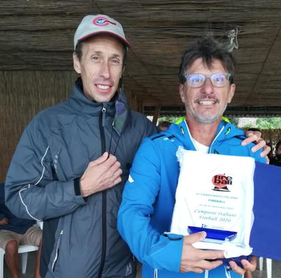 Campioni Italiani Fireball 2020 - Luca Stefanini (Vela Club Campione) e Steven Borzani (Fraglia Vela Desenzano)
