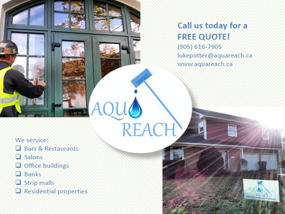 oakville window cleaning, top rated local company, window washing, cleaner windows