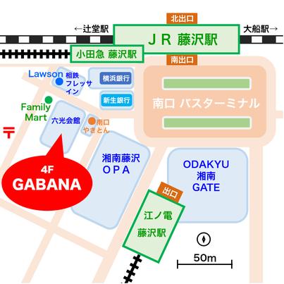 ガバナへの地図