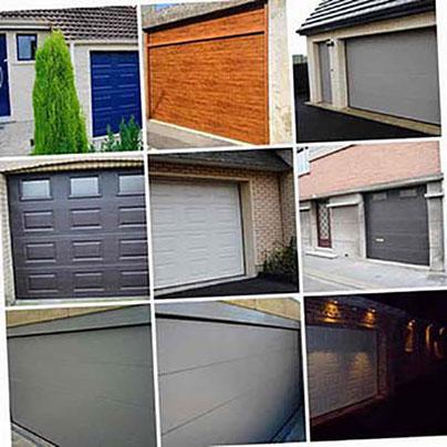 Plusieurs photos de portes de garage posées par BR STORES